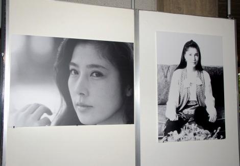 会場には在りし日の大原麗子さんの美しい姿がよみがえった(C)ORICON DD inc.