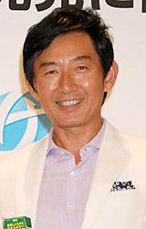 機能性食品素材『アンセリン』配合の新商品発表会にゲストとして登場した石田純一