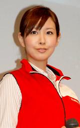 キヤノン『PIXUS』シリーズ新製品CM発表会に出席した岩田さゆり