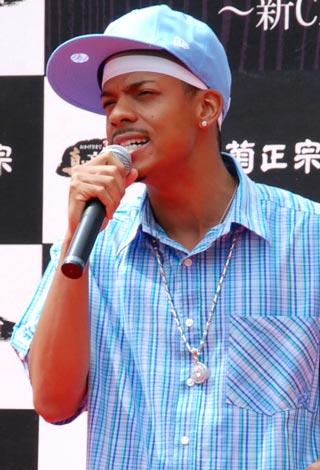 『菊正宗』創業350周年記念 新CM発表会で、歌声を披露したジェロ (C)ORICON DD inc.