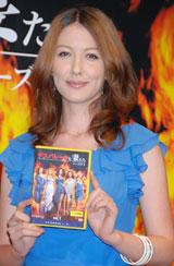 『デスパレートな妻たち シーズン4』DVD発売記念試写会にゲストとして登壇した山本モナ(C)ORICON DD inc.