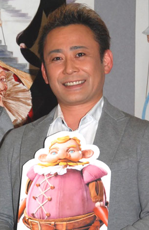 NHK教育テレビ50周年記念番組『新 三銃士』の会見に出席した、高木渉 (C)ORICON DD inc.