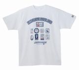 イチロー選手9年連続200本安打新記録達成記念品 TシャツA(白)