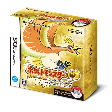 ニンテンドーDS用ソフト『ポケットモンスター ハートゴールド』 (c)2009 Pokemon. (c)1995-2009 Nintendo/Creatures Inc./GAME FREAK inc.
