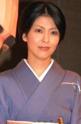 映画『ヴィヨンの妻〜桜桃とタンポポ〜』完成披露試写会に出席した、松たか子 (C)ORICON DD inc.