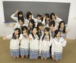 『SKE48学園』に出演するメンバーたち。これが初の冠番組だ。