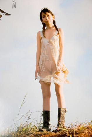 鈴木が肌を露出した、セクシーな映画『宿命(仮)』のポスター (C)ORICON DD inc.