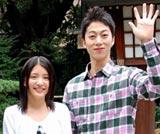 2010年夏公開予定の映画『私の優しくない先輩』の製作発表会見に出席した(左から)川島海荷、はんにゃ・金田哲 (C)ORICON DD inc.