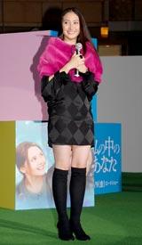 映画『私の中のあなた』ジャパンプレミアに出席した香椎由宇 (C)ORICON DD inc.