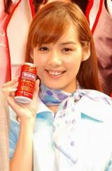 缶コーヒー『ワンダ モーニングショット』新CM発表会に出席した、ローラ・チャン (C)ORICON DD inc.