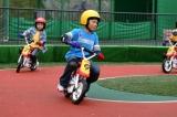 3歳から遊べる「キッズバイク」は多摩テックの名物アトラクションのひとつだった