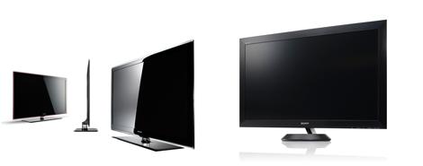 46型LED液晶テレビ『LED 7000』(サムスン電子)、地上・BS・110度CSデジタルハイビジョン液晶テレビ『〈ブラビア〉 ZX1シリーズ』(ソニー)