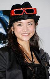 3D実写映画『ファイナル・デッドサーキット 3D』公開記念イベントに出席した加賀美セイラ