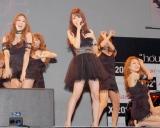 トヨタ自動車とハウスイベントのコラボレーション発表イベントで、新曲「KISS KISS KISS」を初披露した鈴木亜美 (C)ORICON DD inc.