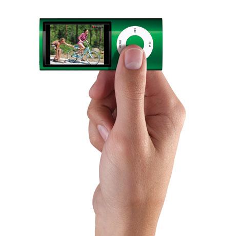 『iPod nano』は動画も楽しめる