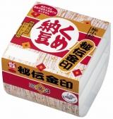 ミツカンが製造を開始した、『くめ納豆 秘伝金印』
