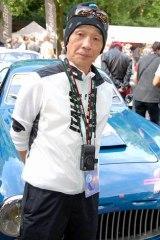 クラシックカーロードレース『La Festa Mille Miglia 2009』に出場した、堺正章 (C)ORICON DD inc.