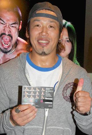 プレイステーション3のキャンペーン『plyaface撮影キャラバン』に登場した、武蔵 (C)ORICON DD inc.