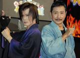 (左から)京本政樹、三田村邦彦