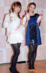 辺見えみり(右)と椿姫彩菜