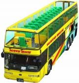 はとバスの2階建てオープンバス『オー・ソラ・ミオ!』