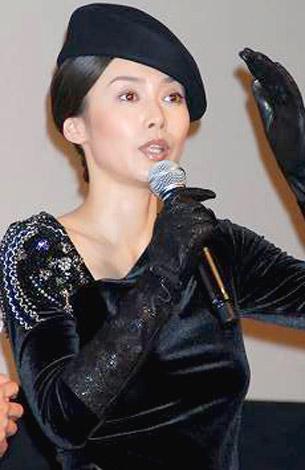 映画『ゼロの焦点』のワールドプレミアを、貧血を訴え途中降壇した中谷美紀 (C)ORICON DD inc.