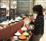そごう横浜店(神奈川県横浜市)の『土鍋を囲む団らんフェア』会場