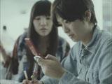 平成22年用年賀はがきCMに出演する榮倉奈々