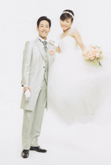 事前に撮影したウェディング写真 撮影 篠山紀信