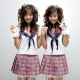 双子ユニット・Neko Jumpのヌーイ(左)とジャム(右)