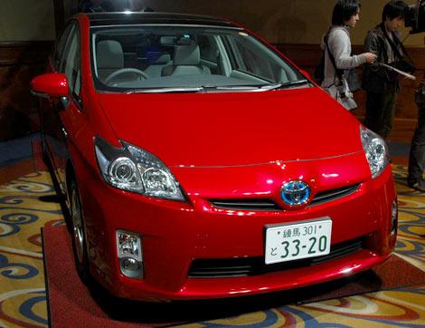 「2009ヒット商品ベスト30」第1位に選ばれたトヨタ自動車の『プリウス』 (C)ORICON DD inc.