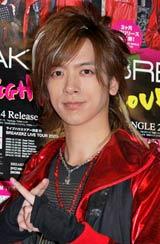 シングル「LOVE FIGHTER〜恋のバトル〜」リリース記念サプライズイベントに登場したDAIGO