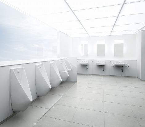 【金賞受賞】公共トイレ『レストルーム アイテム01』(TOTO)