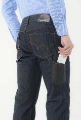 携帯電話用ポケットがついた、エドウインの『503MOBILE』