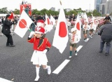 『天皇陛下御即位20年をお祝いする国民祭典』祝賀パレードの模様 (C)ORICON DD inc.