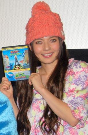映画『モンスターVSエイリアン』DVD発売記念イベントに出席したベッキー (C)ORICON DD inc.
