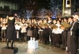約100人の老若男女が集まり、日頃の不平不満を歌にぶつけた 【13日=六本木】 (C)ORICON DD inc.