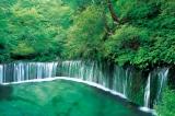 「白糸の滝—長野」 (写真提供:アフロ)