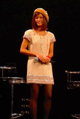 ファッション誌『Popteen』の人気モデル青山英李(C)ORICON DD inc. ※『RED RIBBON LIVE 2009』