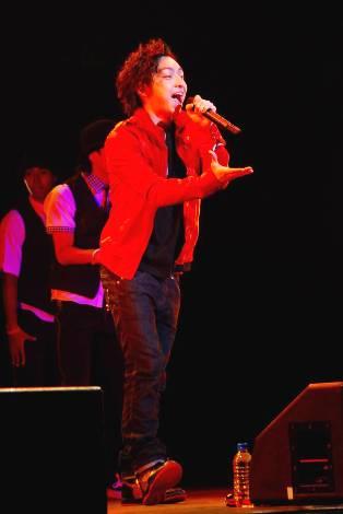 三浦大地(C)ORICON DD inc.※『RED RIBBON LIVE 2009』