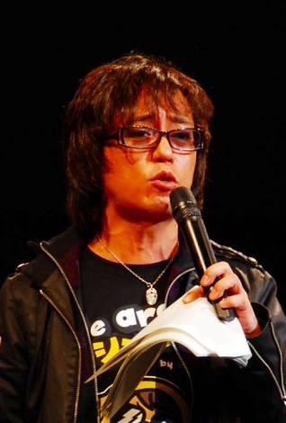 イベント発起人の山本シュウ(C)ORICON DD inc.※『RED RIBBON LIVE 2009』