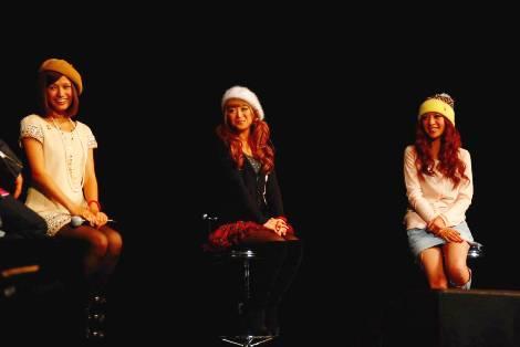 人気モデルらがエイズについてトークショーを展開(C)ORICON DD inc.※『RED RIBBON LIVE 2009』