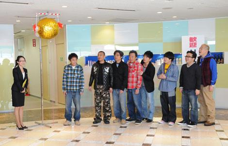 ユニリーバ・ジャパン本社で行われたCM試写会に登場したメンバーら