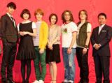映画『のだめカンタービレ』完成披露試写会に出席したキャストの集合ショット
