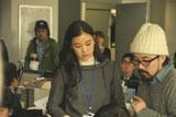 『ユーキャン』新CMに出演する蒼井優/CMメイキングカット