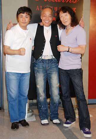 3位はアリス(左より)堀内孝雄、谷村新司、矢沢透(C)ORICON DD inc.