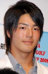 プロゴルファーの石川遼選手 (C)ORICON DD inc.