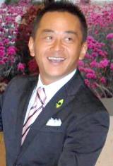 地球温暖化防止の国民運動『チャレンジ25キャンペーン』のメッセンジャーとして任命された小林豊 (C)ORICON DD inc.