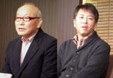直木賞を受賞し会見を行った佐々木譲氏(左)と白石一文氏 (C)ORICON DD inc.