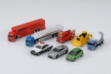 現在までに累計800種以上の車種を発売している「トミカ」